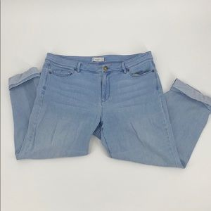 J. Jill Denim  Authentic Fit Cropped size 14